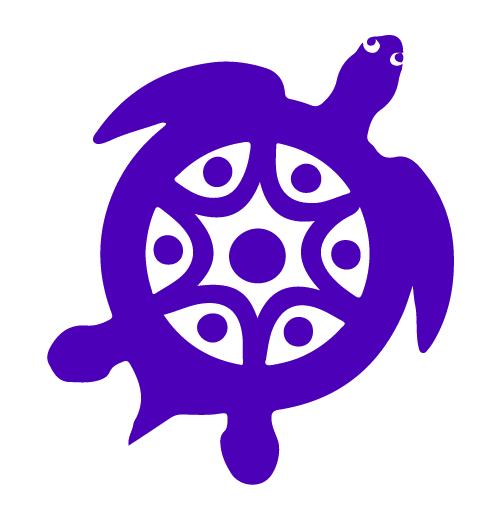 Honu Logosturtle Purple@500px