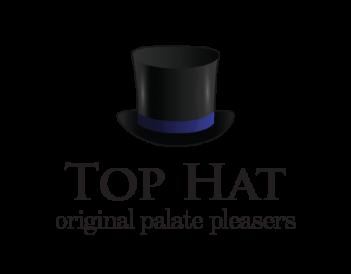 Top Hat Logo Hat Blue@500px